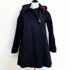 Jcrew Belvedere Swing Trench Coat